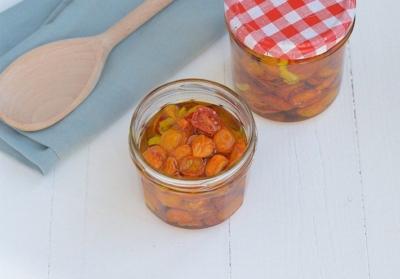 DIY Zongedroogde tomaatjes uit de oven