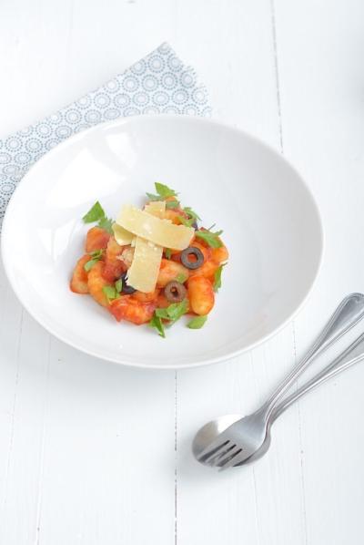 Fresh & Easy: Gnocchi puttanesca