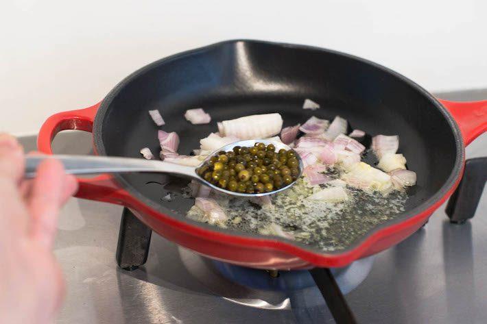 pepersaus maken