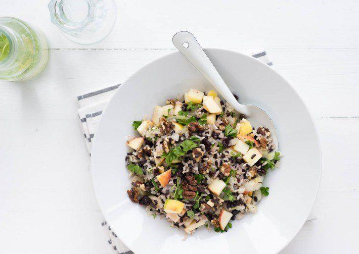 wilde rijst pilav
