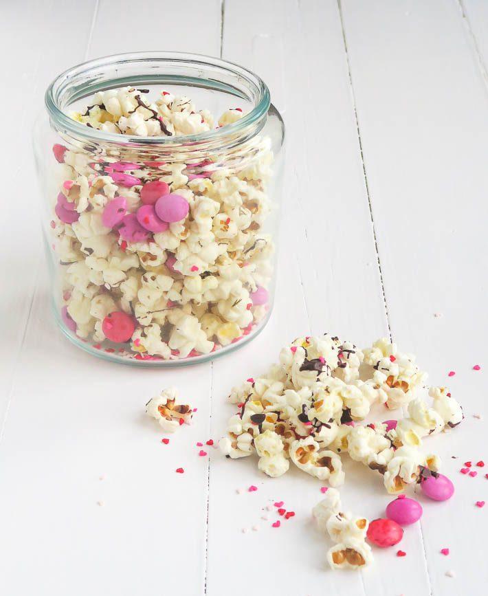 Valentijns popcorn