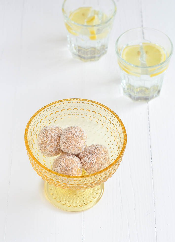 citroen cashew ballen