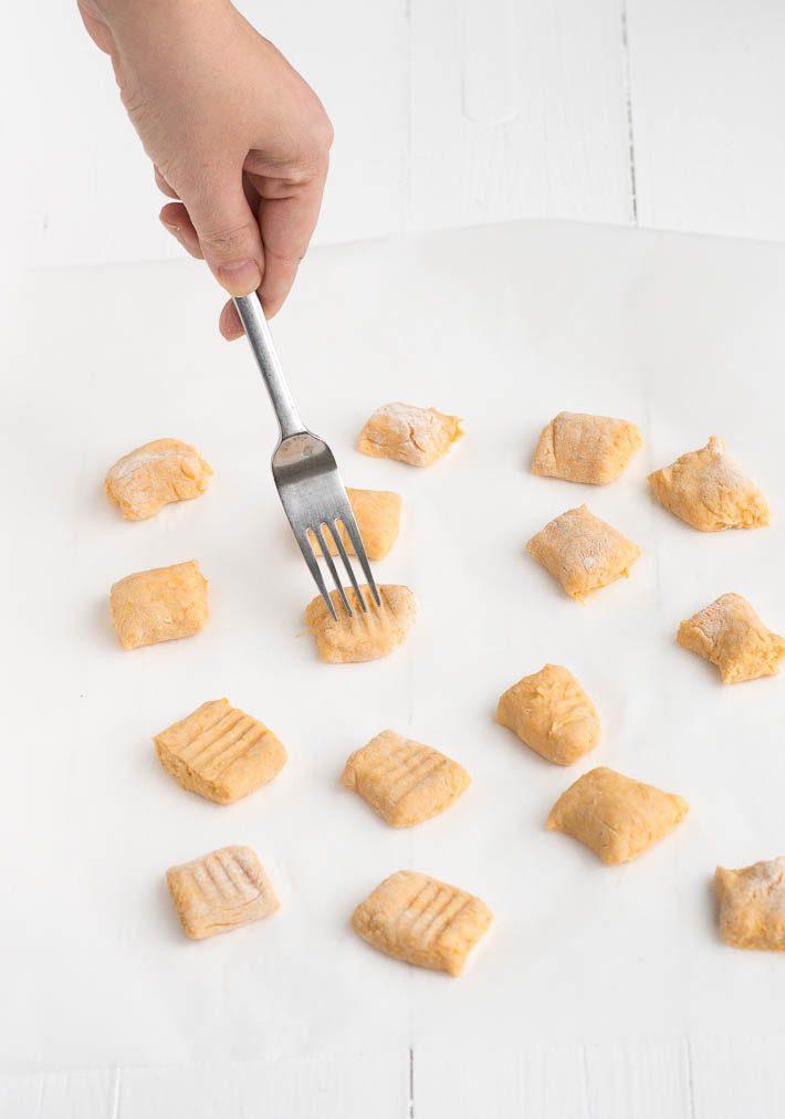 zoete aardappel gnocchi