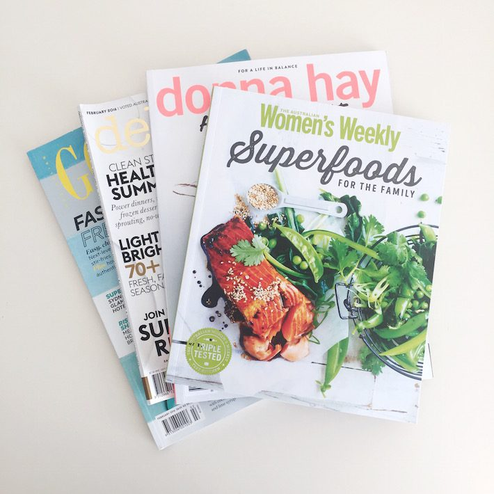australie food magazines