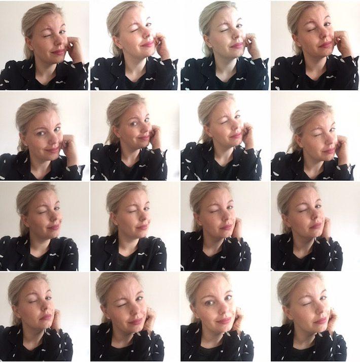 diary selfie