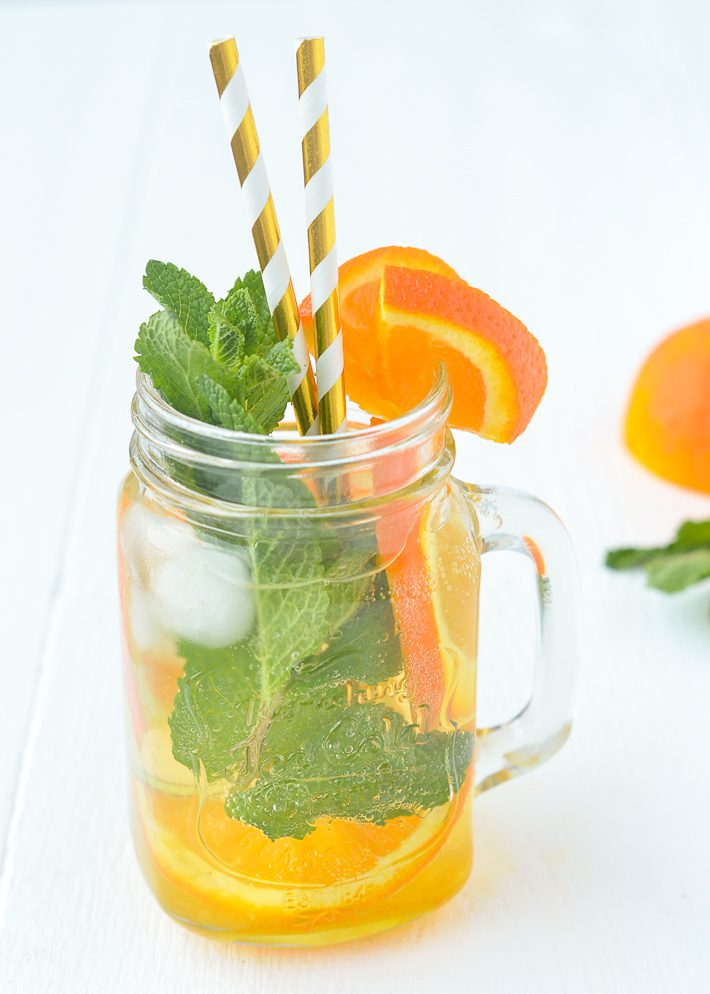 Sinaasappel mojito