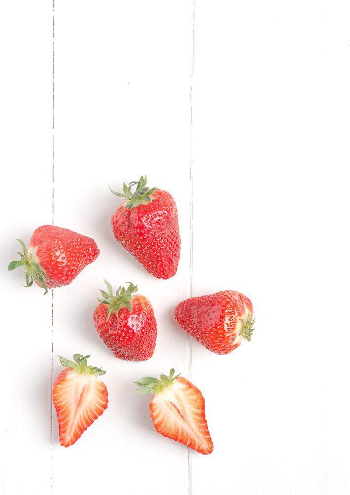 ingrediënten aardbeien