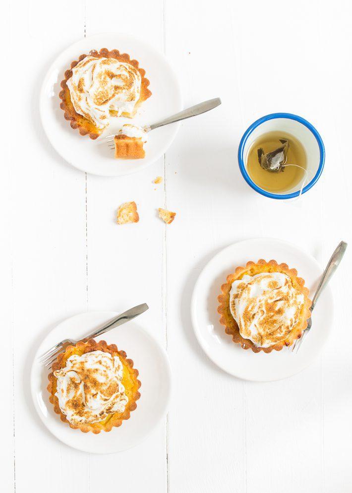 ananas tartelettes met meringue