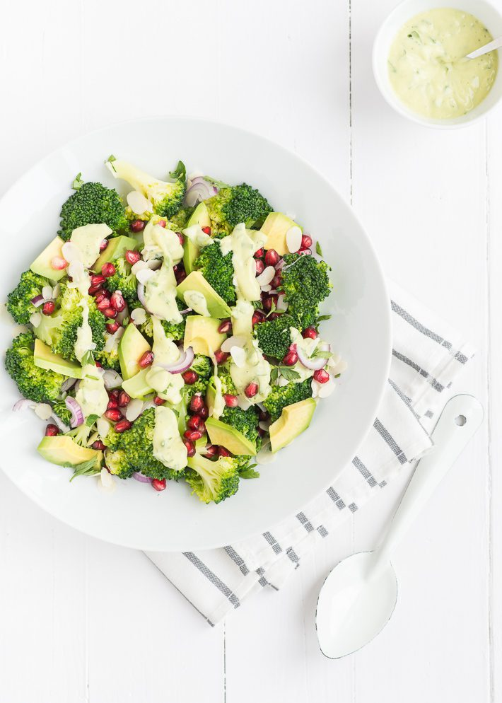 broccolisalade avocado dressing-6