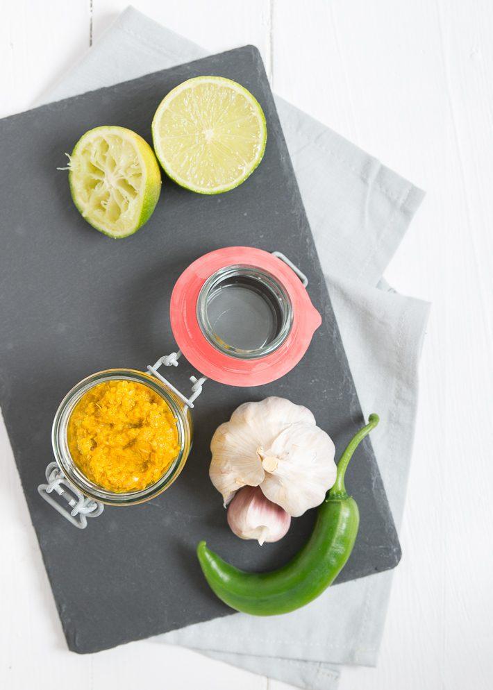 zelf currypasta maken