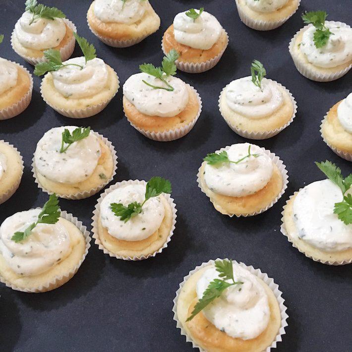 boursin cupcake