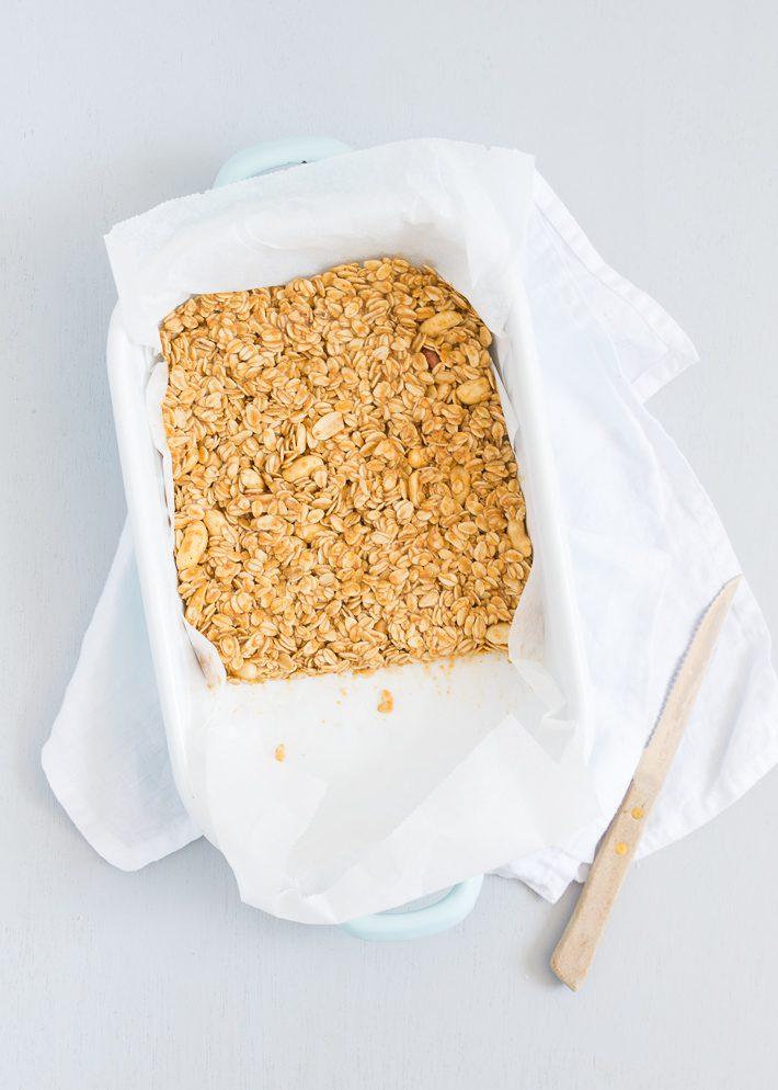 No bake pindakaas repen