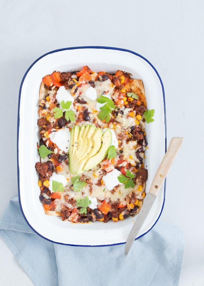 mexicaanse-lasagne
