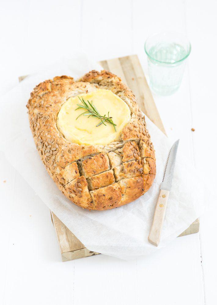 Camambert in brood