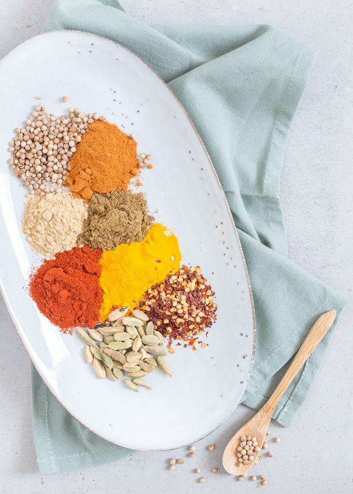 Curry spicemix