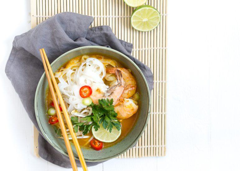 Laksa currysoep