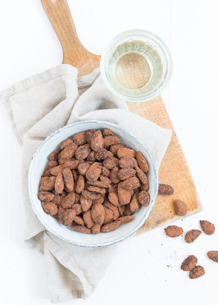 cacao amandelen
