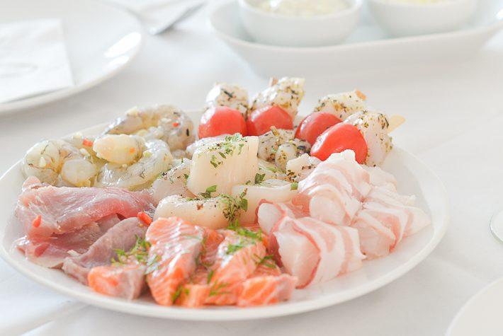 gourmetten-met-vis