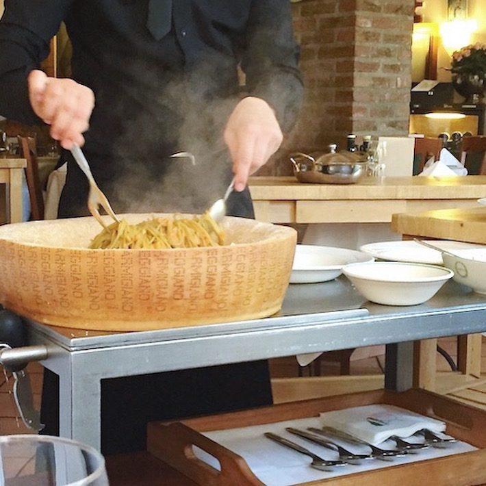 pasta parmigiana