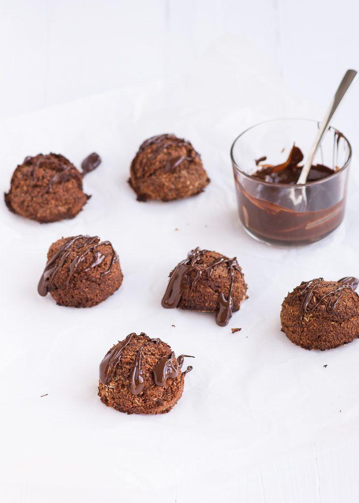 Chocolade kokosbollen