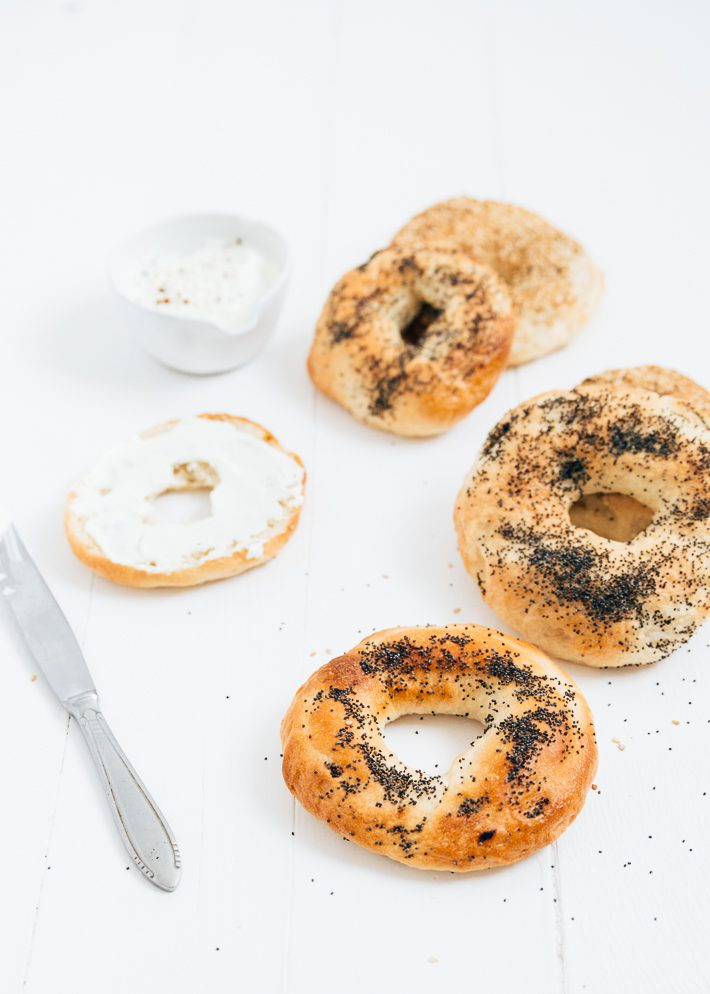 Zelf bagels maken