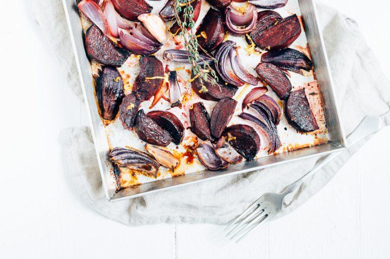 Bietjes met balsamico uit de oven