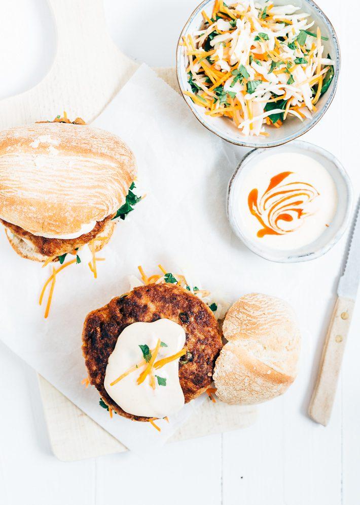 aziatische-kipburger