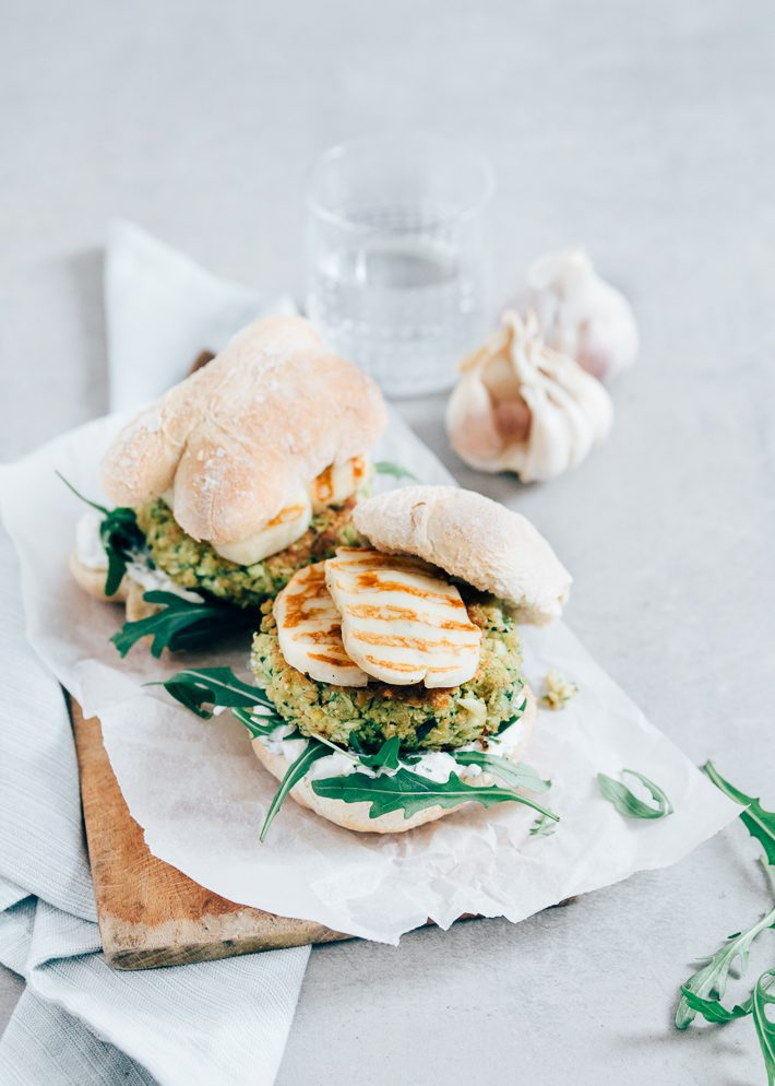 Courgetteburger