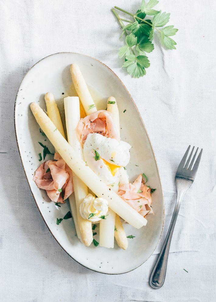 asperges met ham en ei
