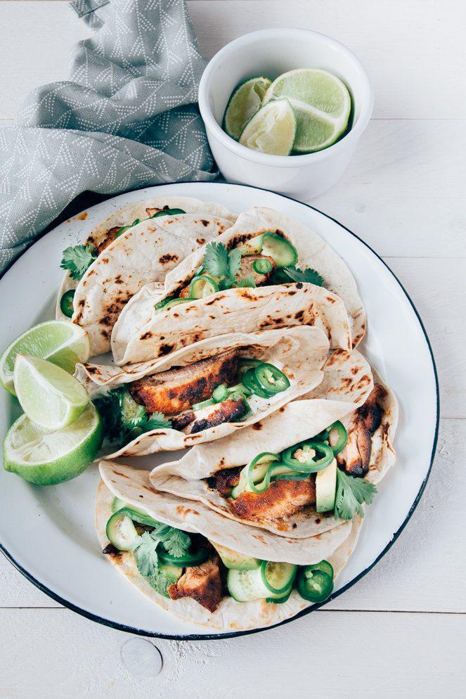 tortilla's met kip
