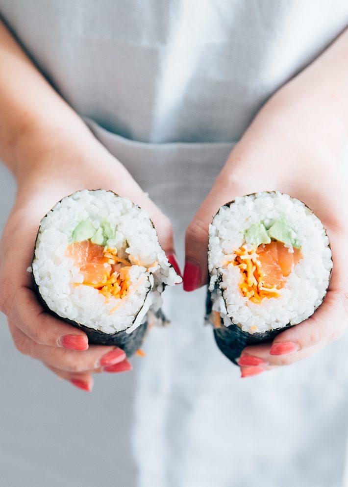 sushi burrito