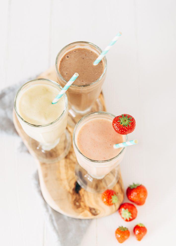 Healthy mgezonde milkshakesilkshakes
