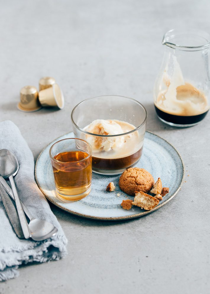 affogato - espresso met ijs