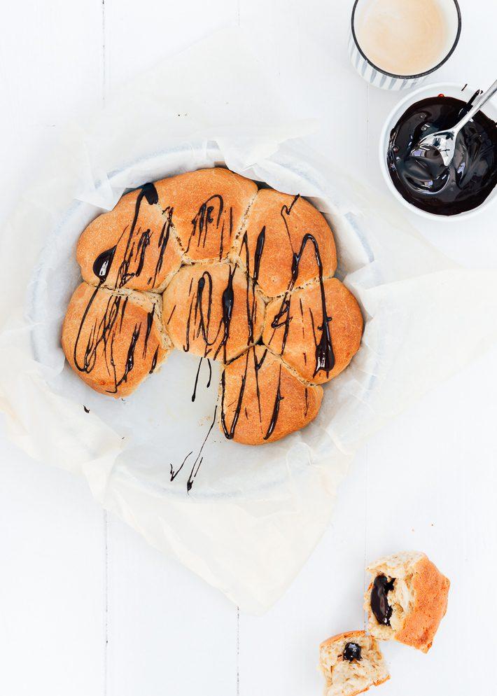 Chocolade brioche breekbrood