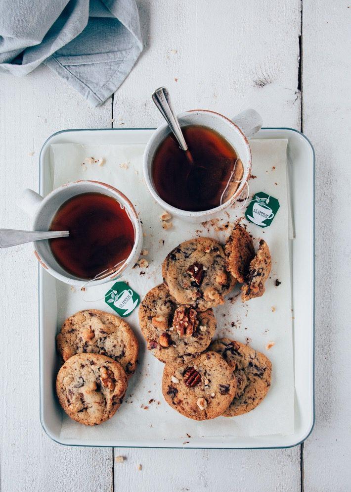 koekjes met chocolade