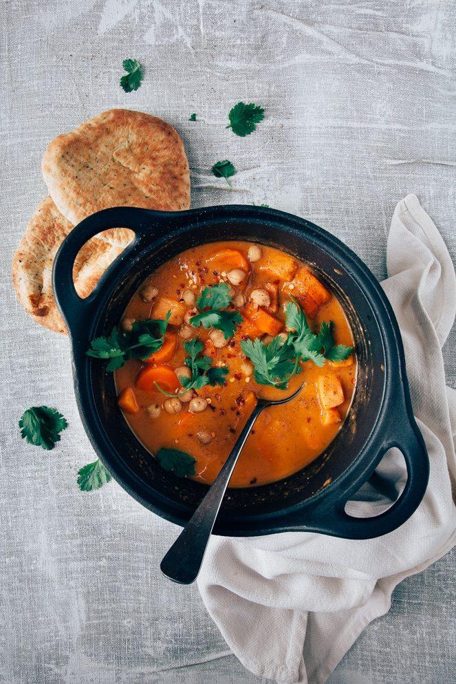 rode vegetarische curry