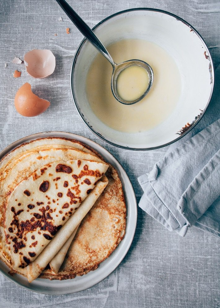 hartige pannenkoek