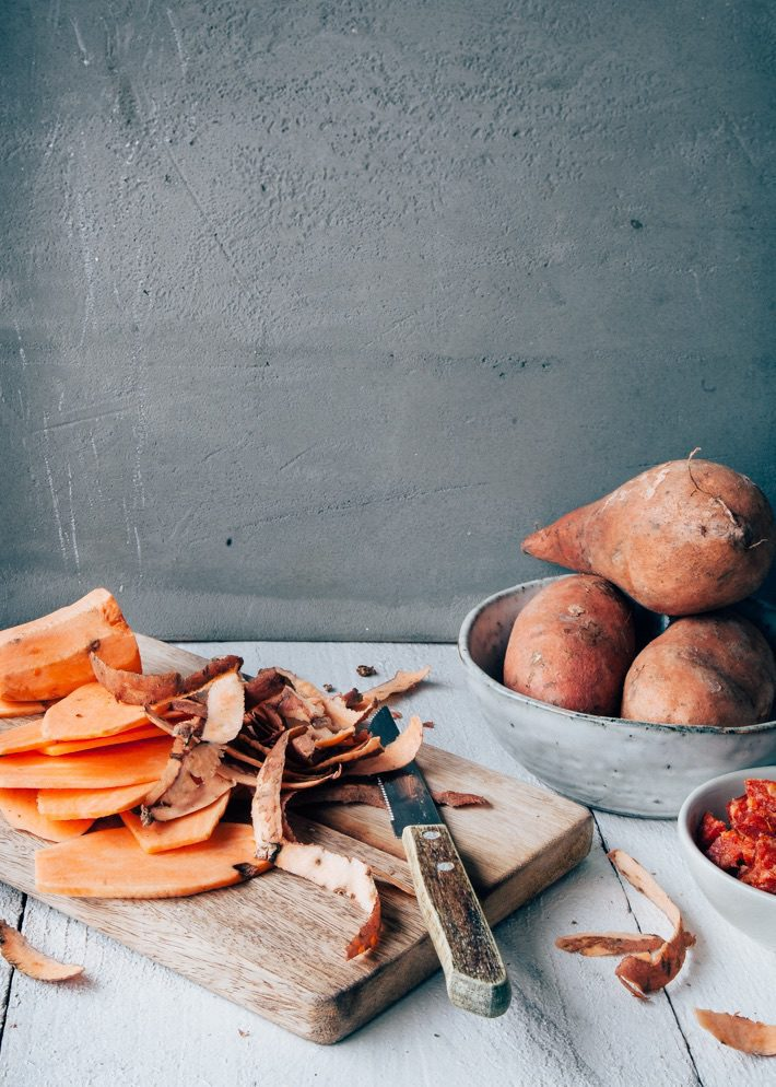 ingredient zoete aardappel