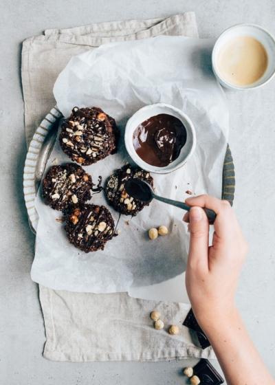 Chocolade havermoutkoekjes