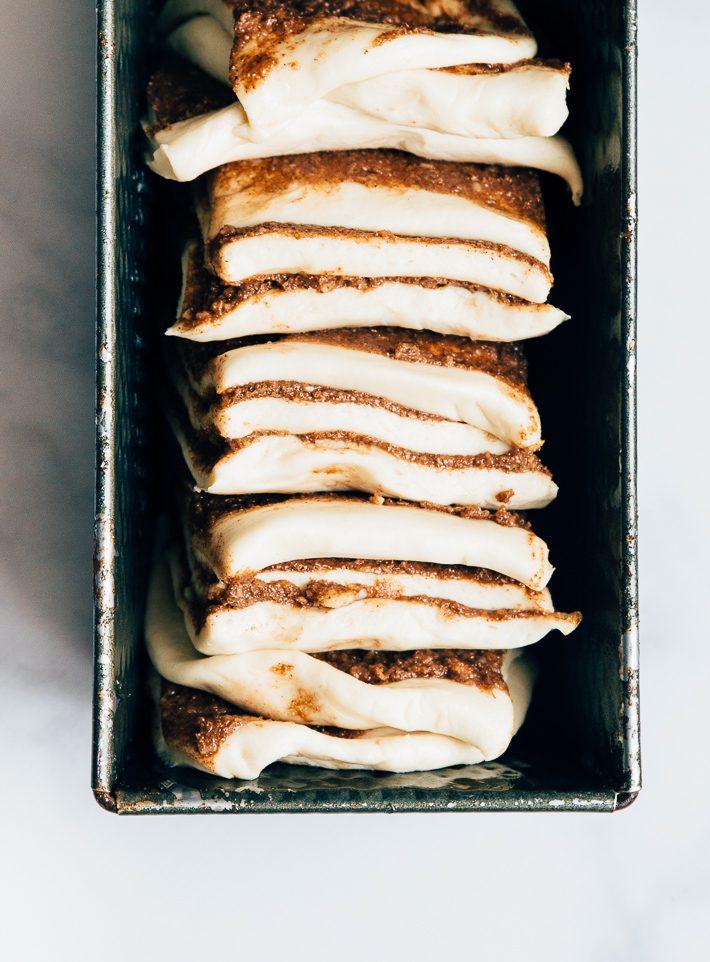 kaneelbrood met icing