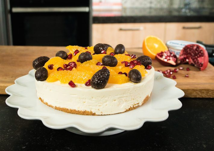 sinaasappel cheesecake