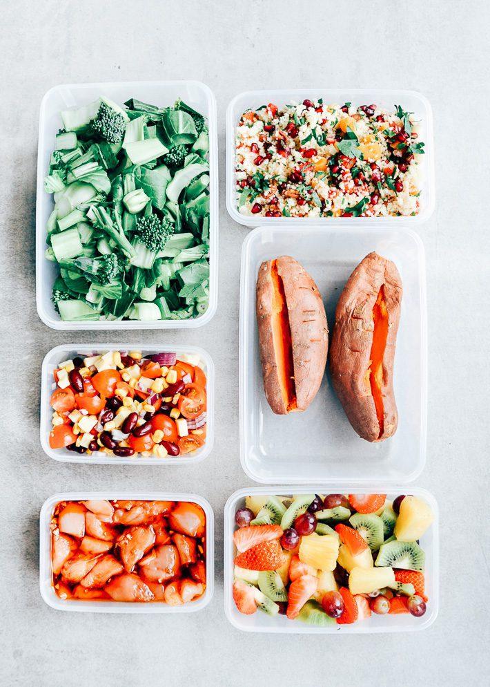 Meal preppen tips