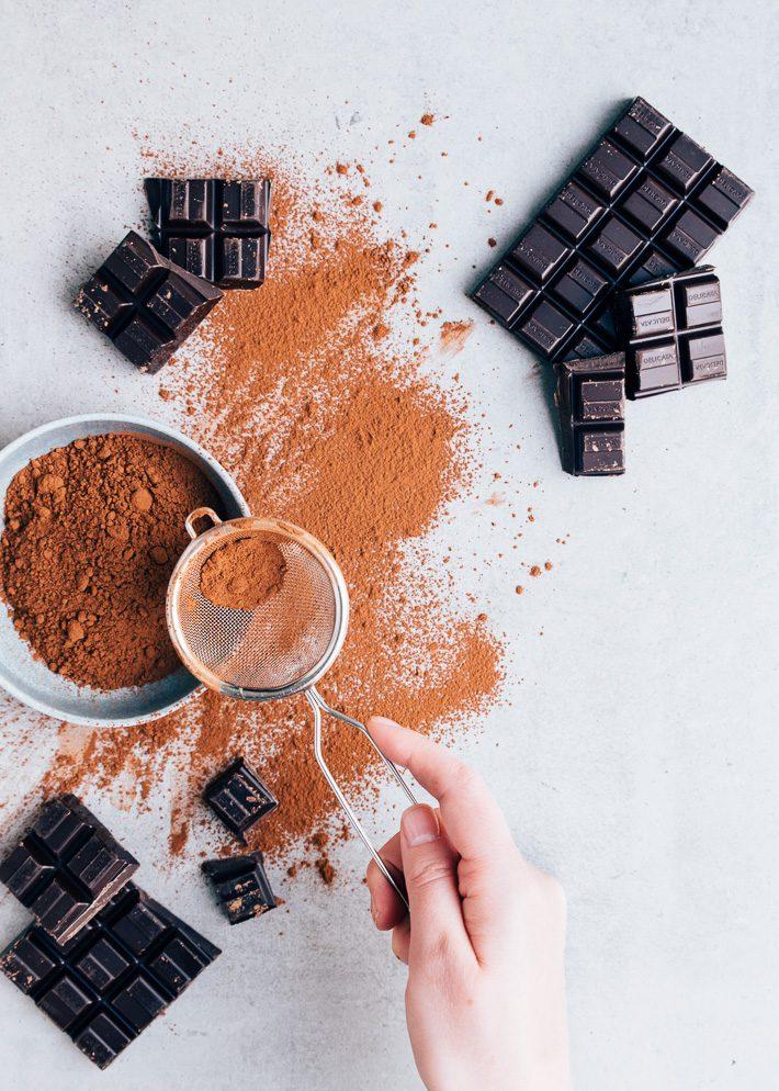 Chocolademousse taart