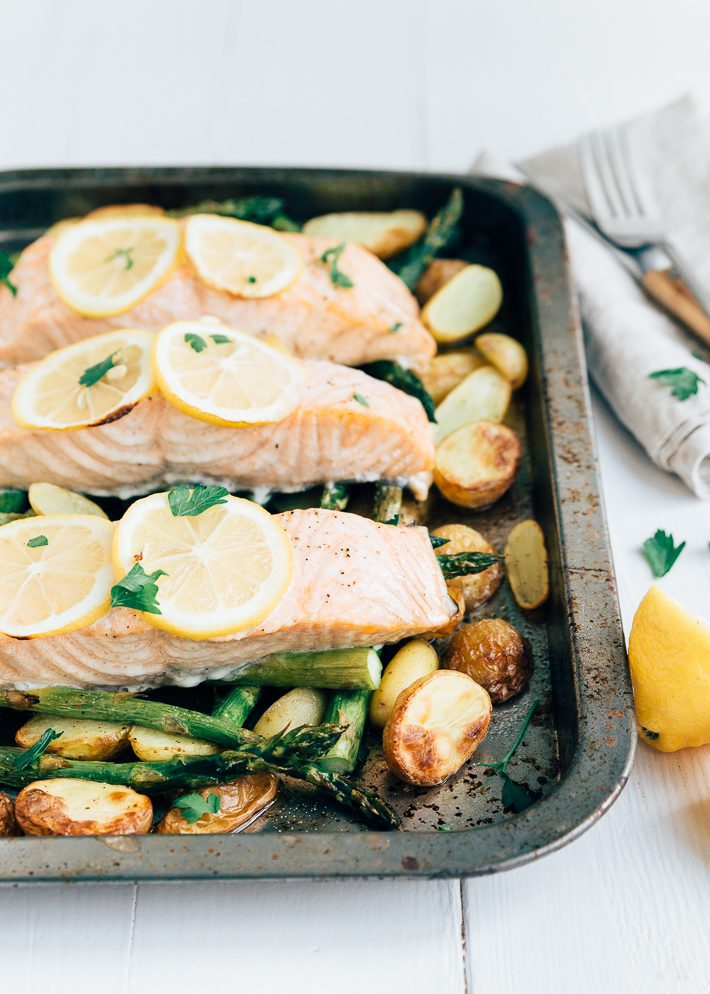 recept zalmmoot in oven