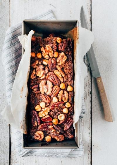 Havermoutbrood met noten