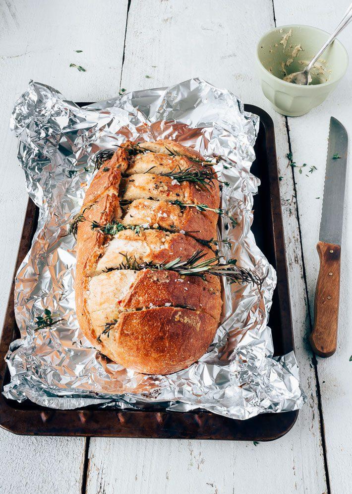 knoflook borrelbrood