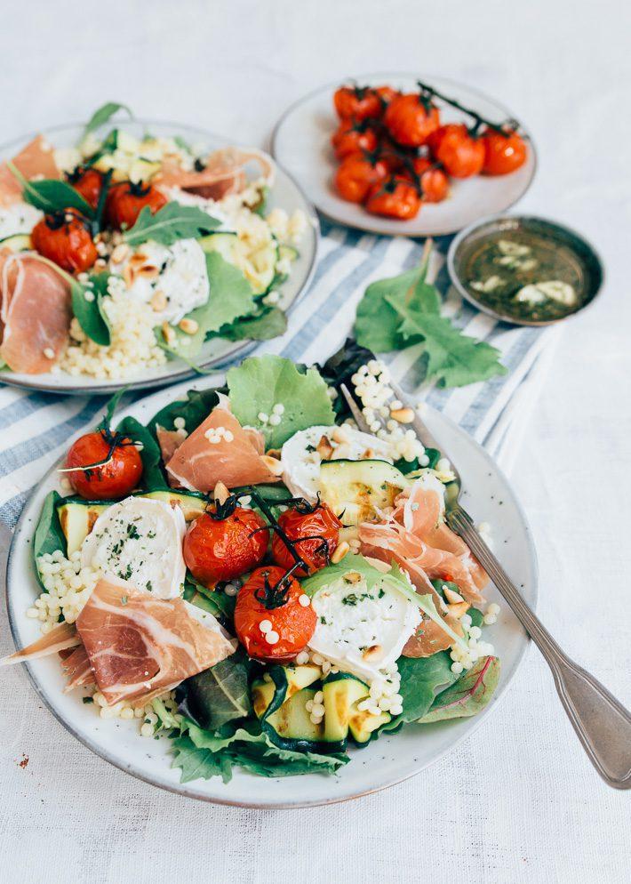 Parelcouscous salade