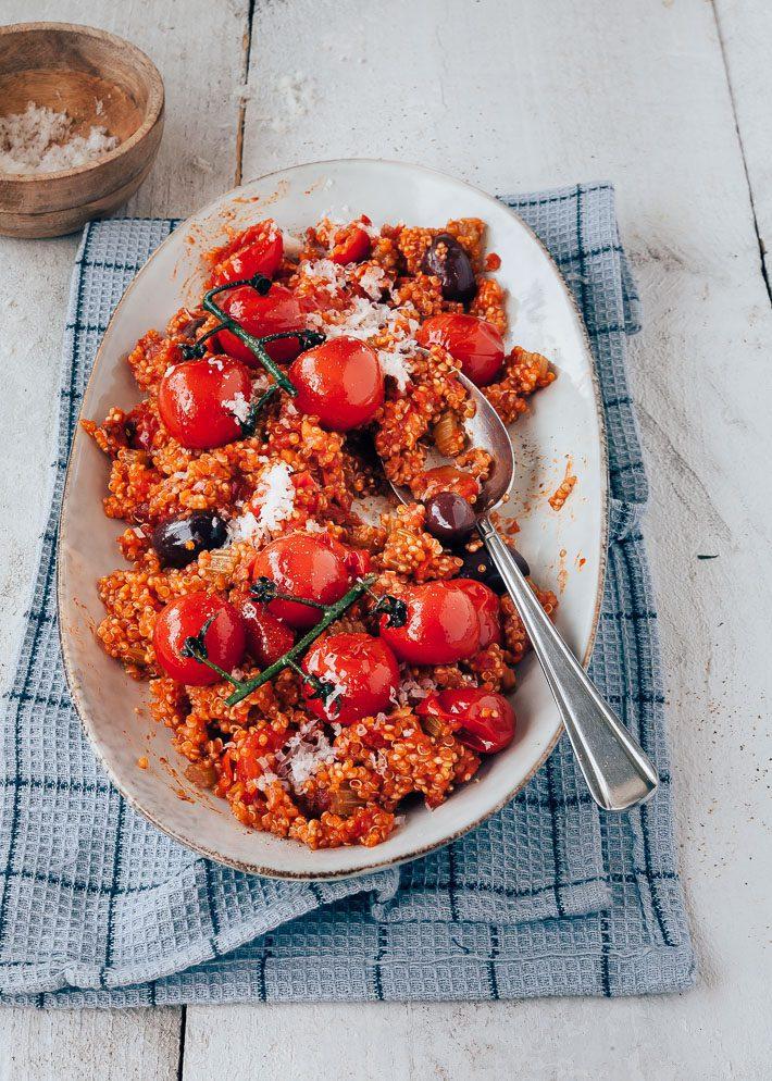 Quinoa risotto recept