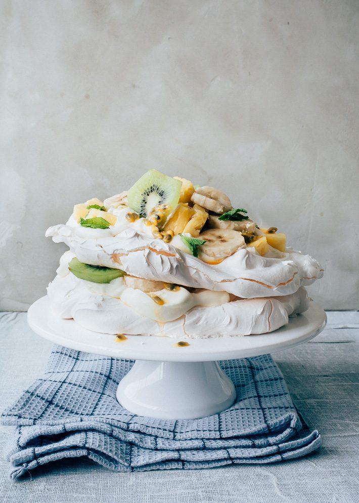 meringue taart