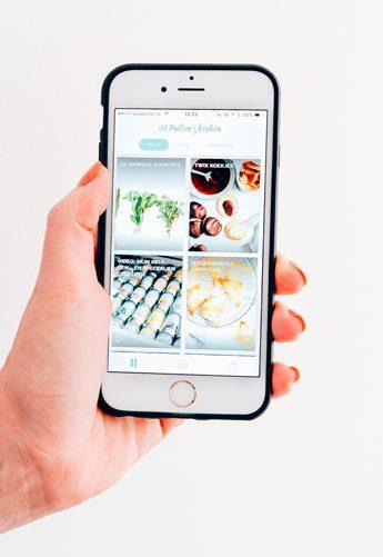 recepten app uit paulines keuken